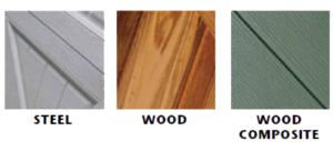 DAPco Garage Door Wood Steel Composite